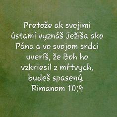 Rimanom 10:9 Food, Bible, Meal, Eten, Meals