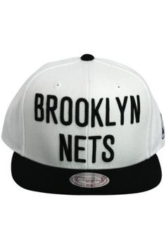 674f478bef5dc Brooklyn Nets Mitchell   Ness White Snapback Adjustable Hat Mitchell    Ness.  29.99. Mark Coln · Sports   Outdoors