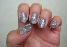 Nails Art   nail art black haze colour konad nail art photo gallery amazing ...