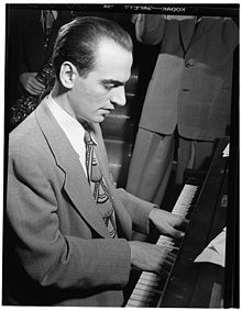 Lennie Tristano (1919-1978) | Jazz pianist, composer, teacher of jazz improvisation. Performer in the cool jazz, bebop, post bop, and avant-garde jazz genres. Enormous originality and dazzling work as an improviser...exerted a substantial influence on jazz... | Excerpted from Wikipedia
