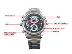 You can find here detailed information about Spy wrist watch camera in Delhi with all its features and specifications. It is a tiny spy gadget which is easy to use and you can carry anywhere.   Visit our blog:- http://spycamerasindia.wordpress.com/2013/08/03/spy-wrist-watch-camera