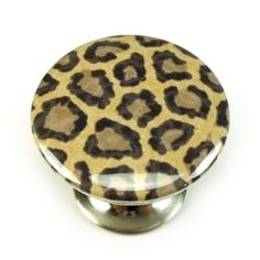Shop for everything but the ordinary. Dresser Knobs And Pulls, Drawer Pulls, New Cabinet, Cabinet Knobs, Bathroom Plans, Bathroom Ideas, Leopard Animal, Cheetah, Animal Prints