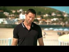 Song and dance man Hugh Jackman doing the Safety Dance in a Lipton Iced Tea commercial