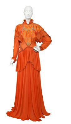 Zandra Rhodes (British, born 1940), The Lily Collection