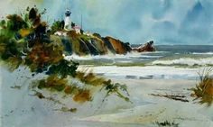 best watercolor paintings | World Renown Watercolorist Tony Couch is coming to Brookings in 2011