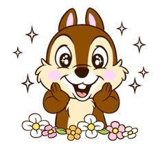 Meet cheeky Chip with the small black nose, goofy Dale with the big red nose, and their beloved Clarice! Go nuts with these super cute and expressive stickers! Funny Emoticons, Funny Emoji, Cute Disney Wallpaper, Cool Wallpaper, Disney Drawings, Cartoon Drawings, Chip Y Dale, Disney Illustration, Cute Cartoon Pictures