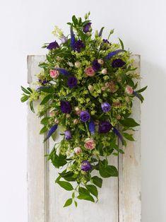 Pew Floral Arrangement