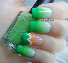 Silvia Lace Nails: St. Patrick's Day Nails