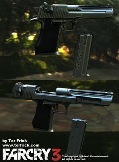 Far Cry 3 guns - Polycount Forum