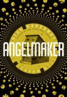 Angelmaker  (Book) : Harkaway, Nick  : Avoiding the lifestyle of his late gangster father by working as a clock repairman, Joe Spork fixes an unusual device that turns out to be a former secret agent's doomsday machine and incurs the wrath of the government and a diabolical South Asian dictator.