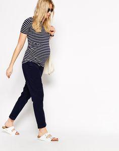 Pour se sentir belle et bien pendant 9 mois. Farah Hirondelle · couture 2 ·  Image 4 - ASOS Maternity - Pantalon chino Look Femme Enceinte 4bd7c4d4eeb