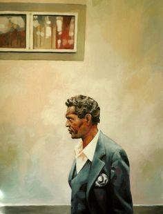 "Saatchi Online Artist: thomas saliot; Oil, Painting ""Soul man"""