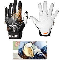 NEW Catcher's & Fielder's Inner-Glove / Palm Finger & Wrist Padded Lightweight Moisture Wicking