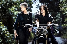 <p>Melissa McBride as Carol Peletier and Norman Reedus as Daryl Dixon   Norman Mark Reedus is an American actor and model, best known for his role as Daryl Dixon on the AMC horror drama series The Walking Dead, and as Murphy MacManus in The Boondock Saints. Wikipedia Born: January 6, 1969 (age 48), Hollywood, FL