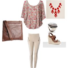 Love these warm colours, nice for a lunch with the girls Warm Colours, Fashion Ideas, Lunch, Shoe Bag, Nice, Makeup, Girls, Hair, Stuff To Buy