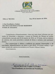 RN POLITICA EM DIA: ALEXANDRIA: VICE-PRESIDENTE EM EXERCÍCIO DA CÂMARA...