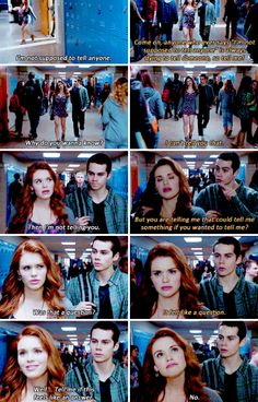 Teen Wolf - Stiles and Lydia