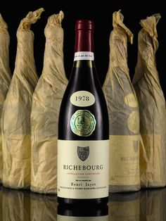 "New records for Henri Jayer were set at Sotheby's latest London sale as bidding on a ""time capsule"" of wines from the domaine propelled the auction to a million haul. Bidding on the 12 lots of Henri Jayer alone accounted for Sauvignon Blanc, Cabernet Sauvignon, Chenin Blanc, Pinot Noir, Wine Label Design, Expensive Wine, Expensive Champagne, Wine Deals, French Wine"