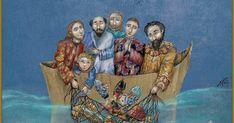 La vida de Jesús ,Nerina Canzi: LA PESCA MILAGROSA