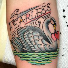 Unique american traditional tattoo by Virginia Elwood Mum Tattoo, Saved Tattoo, Tattoo Art, Schwan Tattoo, Violet Flower Tattoos, Rabbit Tattoos, Neue Tattoos, Tattoo Trends, Tattoo Ideas