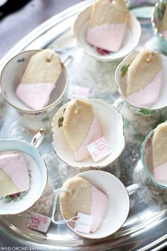 """Tea Time; Breast Cancer Awareness """"Pink Party""""… (let's please move away from alcohol -- a cause of breast cancer -- to tea as an awareness tool!)."""