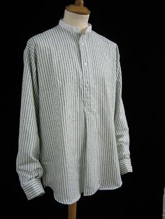 Grandad collarless shirt from Darcy Clothing Lewes E Sussex