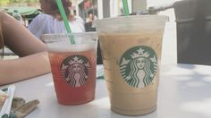 Teavana & iced coffee on starbucks
