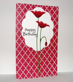 Lattice and Poppy by bdengler4 (Barb), via Flickr. We might need to order that Memory Box die!