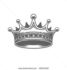 Find King Crown Logo Vector Illustration Royal stock images in HD and millions of other royalty-free stock photos, illustrations and vectors in the Shutterstock collection. King Crown Tattoo, King Queen Tattoo, Crown Tattoo Design, King Crown Drawing, Heartbroken Drawings, Evil Skull Tattoo, Crown Silhouette, Crown Logo, Crown Symbol