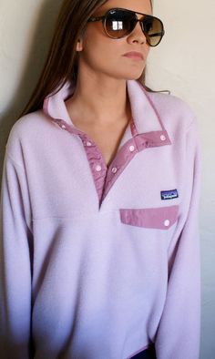 Selling my Patagonia!! Please visit my Etsy page if you're interested. Pink Vintage Patagonia Synchilla Snap Pullover