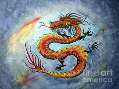 Nice dragon painting!