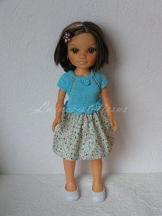 Vêtement pour poupée type Nancy de Famosa : Jeux, jouets par laines-et-tissus