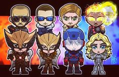Sooooo Cute!!! Legends of Tomorrow Chibis!!! I am going to explode from…