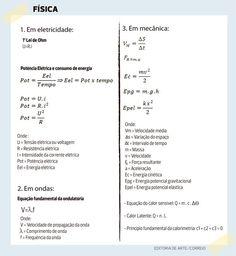 Professores apontam fórmulas mais cobradas em Física e Química no Enem - CORREIO | O QUE A BAHIA QUER SABER: