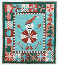 Sebastian Snowman Little Munchkins Quilt Pattern by Abbey Lane Quilts. Adorable small quilts with fun appliques and great block borders. They are great used as a wallhanging or a holiday throw. They will add a great touch to your holiday décor. http://www.kayewood.com/item/Sebastian_Snowman_Little_Munchkins_Pattern/3489 $14.50