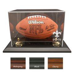 New Orleans Saints NFL Zenith Football Display Case