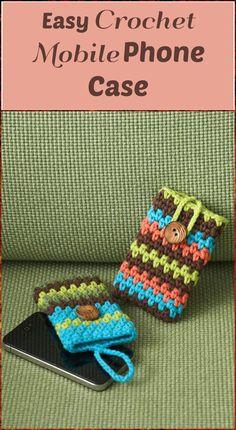 EasyCrochet Mobile Phone Case - 50 Free Crochet Phone Case Patterns