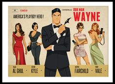 Bruce Wayne! Man of Mystery. Would make a great One-Shot Comic!