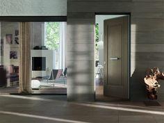 Legno Vivo line modern bespoke doors