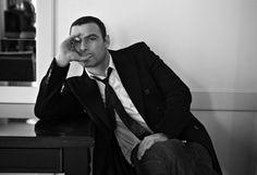 Мужские портреты знаменитостей от Бриджитт Лакомб