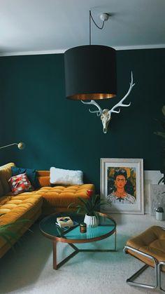Home Colour Design . Home Colour Design . Teal Living Rooms, Living Room Images, Living Room Paint, Living Room Colors, My Living Room, Living Room Decor, Living Room Colour Design, Home Colour Design, Interior Design Living Room