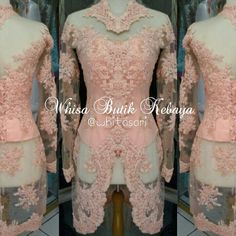 Kebaya akad warna peach.. by me @whitasari