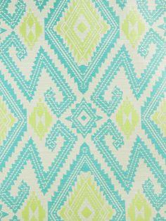 ZIGZAGOON GENEROSITY #blue-turquoise #green #ikat #kilim #suzani #woven-fabrics