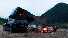 iKamper Skycamp, la tente 4 personnes qui s'installe sur le toit des voitures | NeozOne