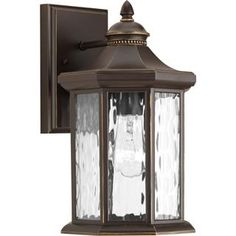 """Check out the Progress Lighting P6071 Edition 12-1/2""""H 1 Light Outdoor Wall Sconce  priced at $68.40 at Homeclick.com."""