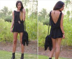 Pretty in black x