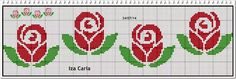 This Pin was discovered by Hül 123 Cross Stitch, Cross Stitch Boards, Cross Stitch Letters, Cross Stitch Flowers, Cross Stitch Designs, Loom Beading, Beading Patterns, Embroidery Patterns, Stitch Patterns