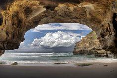 Ghosties Sea Cave, Australia. By Steve Passlow