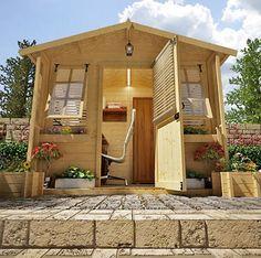 Office Shed Backyard Studio, Garden Studio, Backyard Office, Garden Office,  Backyard Ideas