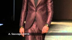 Watch the A. Sauvage catwalk show for autumn/winter 2014